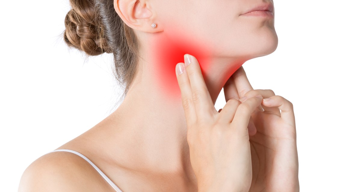 Potential causes of sore throat and their treatment