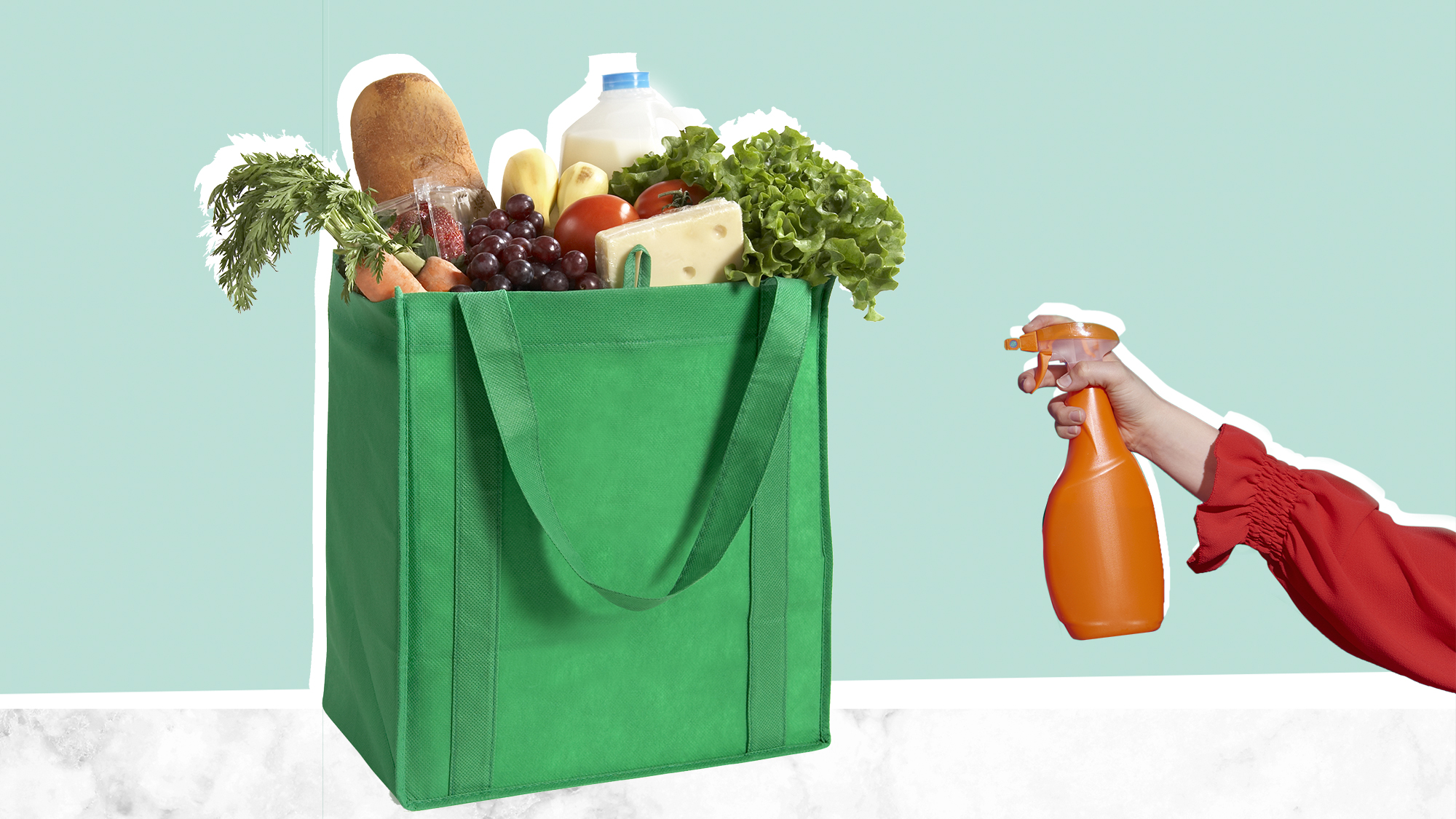 How to effectively disinfect groceries during Covid-19?