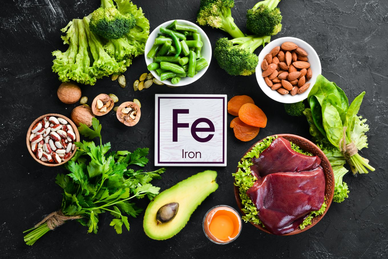 Food items that can reduce the chances of Iron Deficiency