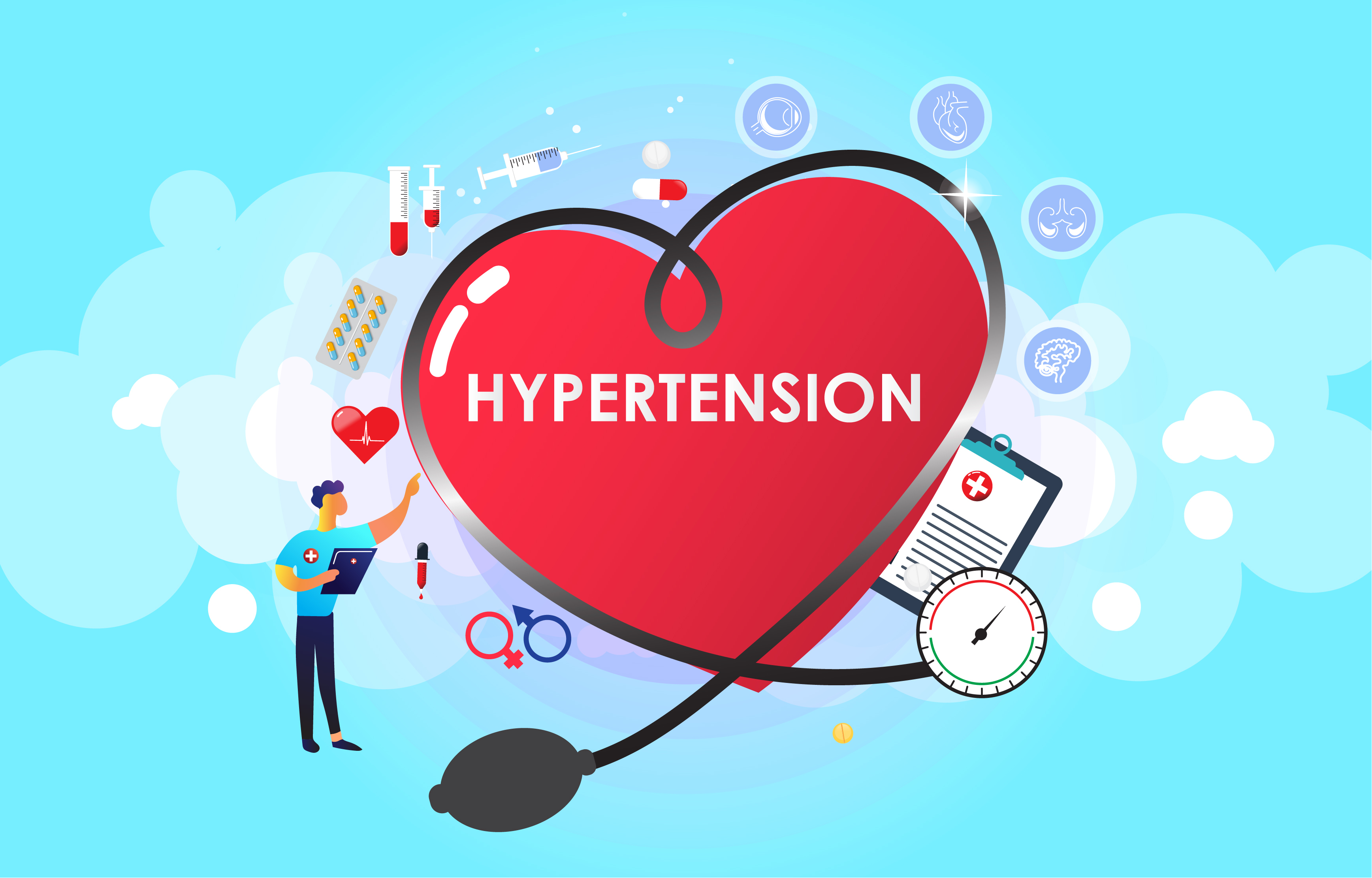 Serious complexions that are caused by Hypertension