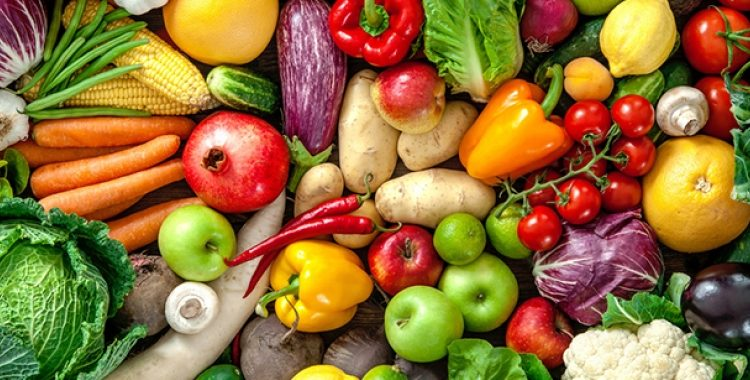 Why are fruits and vegetables necessary for a healthy life?