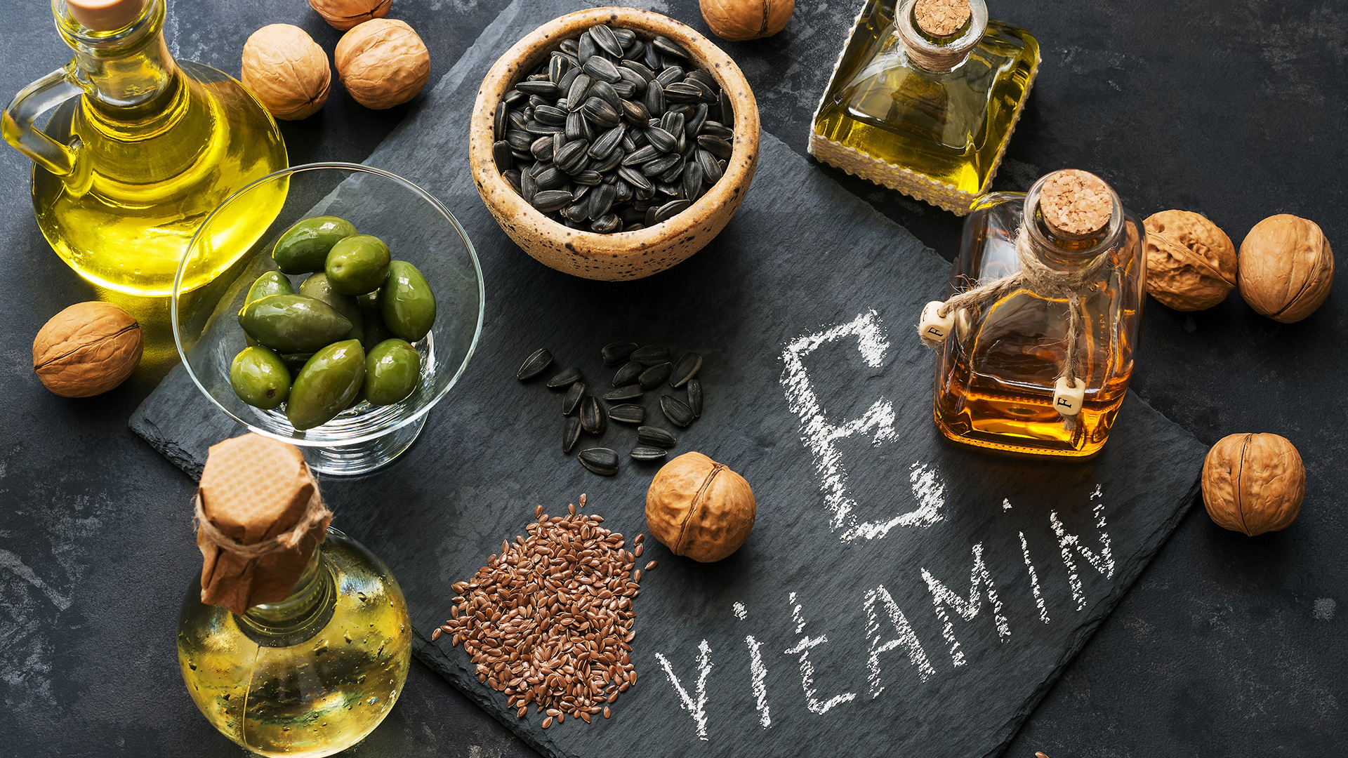 Vitamin E is a must to stay healthy