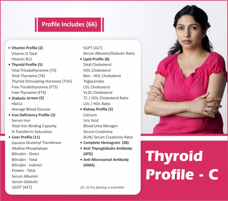 THYROID PROFILE - C