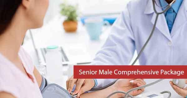 Niramaya  Senior Male Comprehensive Package